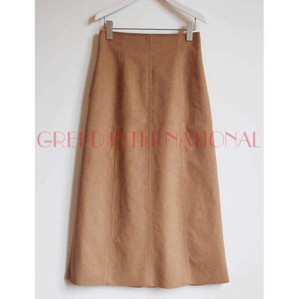 50%Off<br />GREED International<br />Soft Suede Skirt<img class='new_mark_img2' src='https://img.shop-pro.jp/img/new/icons20.gif' style='border:none;display:inline;margin:0px;padding:0px;width:auto;' />