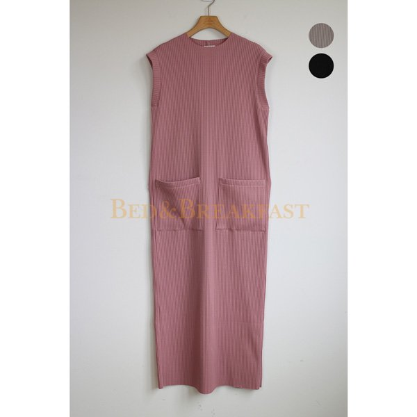 【予約】<br />BED&BREAKFAST<br />SummerRib Dress