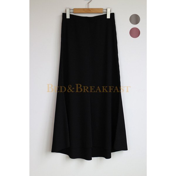 【予約】<br />BED&BREAKFAST<br />SummerRib Skirt