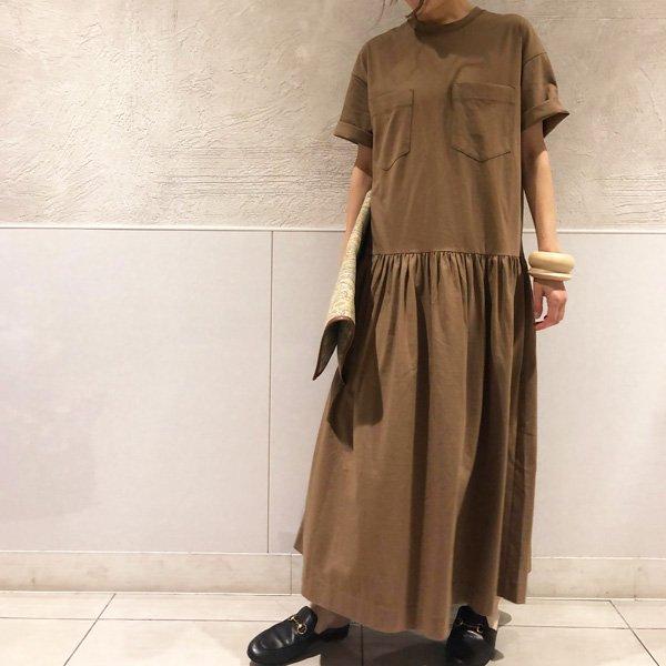 【予約】<br />BED&BREAKFAST<br />RingaBell別注プレミアムコットン DRESS