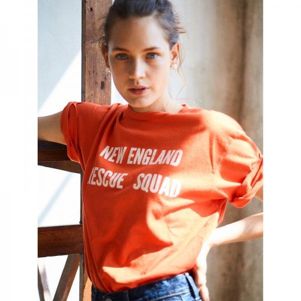 THE SHINZONE<br /> RESCUEロゴTシャツ / Orange