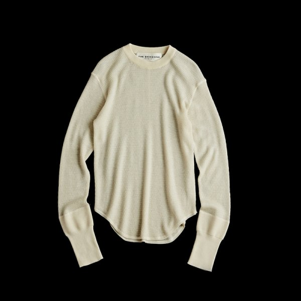 THE SHINZONE<br /> WOOL THERMAL/ White