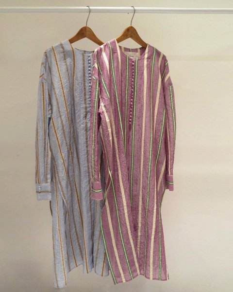 TODAYFUL<br />Sheer Stripe Gown
