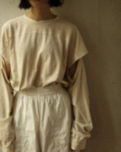 TODAYFUL<br /> Sleeve Slit Long T-Shirts