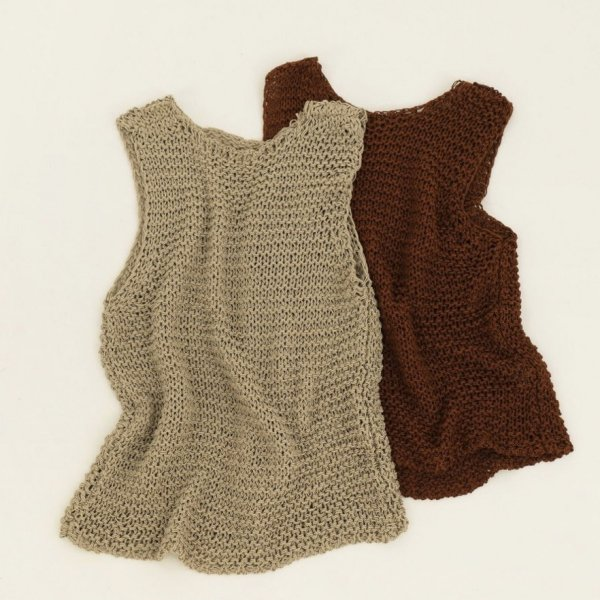 【TODAYFUL】<br /> Mesh Knit Tanktop