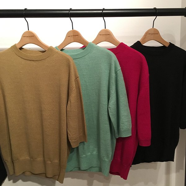 THE SHINZONE<br />linen half sleeve pullover