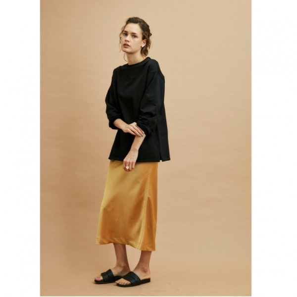 THE SHINZONE<br />CREPE SKIRT