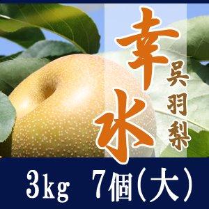 幸水3kg/(大)7個玉【贈答用】