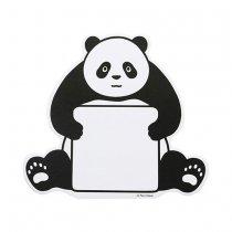 【のこりわずか】Noritake ダイカットふせん パンダ