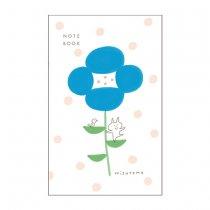 【おひとり様2点まで】 mizutama A5スリムノート お花