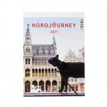 2021 NOROJOURNEY 壁掛けカレンダー