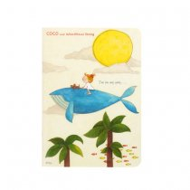 ココ ノート A6サイズ クジラ.