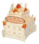 ホールケーキカード ショートケーキ