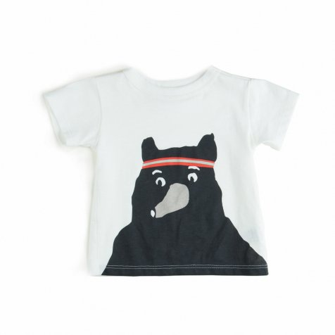 【MORE SALE 50%OFF】TEE SHIRT BEAR WHITE