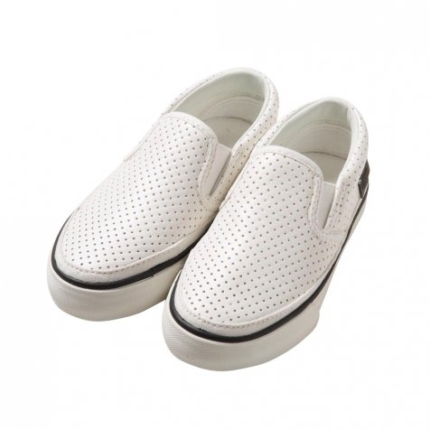 【SALE 40%OFF】Punching Slip-on WHITE