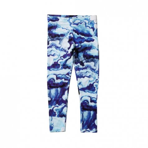 【サマーセール30%OFF】CLOUDS AOP SS LEGGINGS DARK BLUE