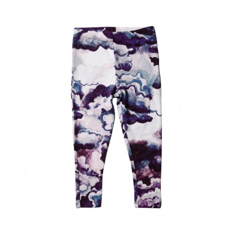 【セール40%OFF】CLOUDS AOP SS LEGGINGS PURPLE