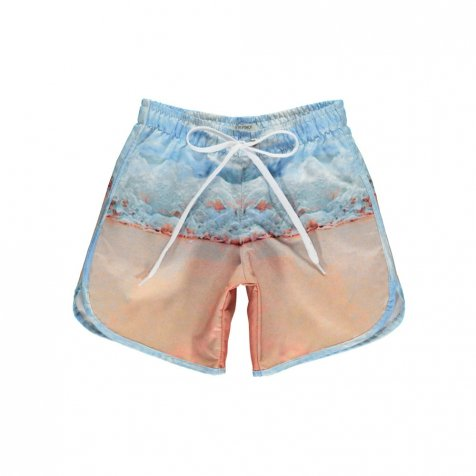 【サマーセール30%OFF】SWIM SHORTS LONG PRINT/SEA