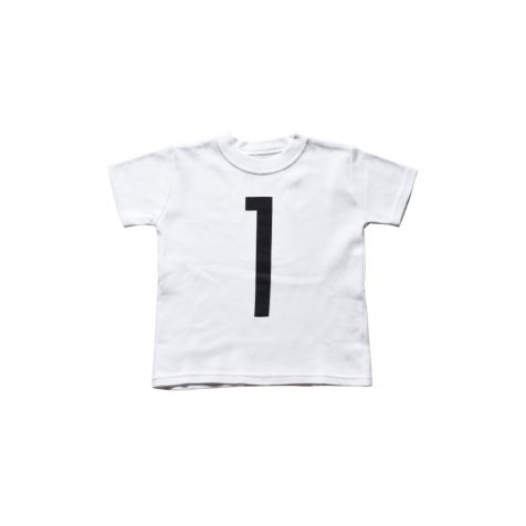 The Wonder Years Number T-shirt SS White No.1