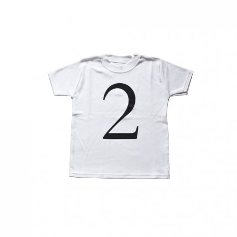 The Wonder Years Number T-shirt SS White No.2