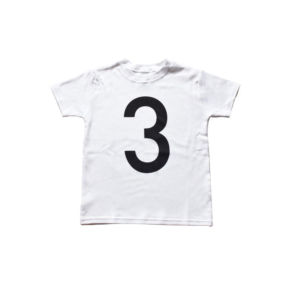 The Wonder Years Number T-shirt SS White No.3 img1