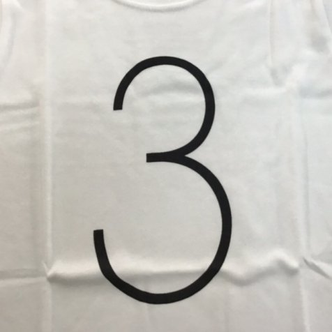 The Wonder Years Number T-shirt SS White No.3