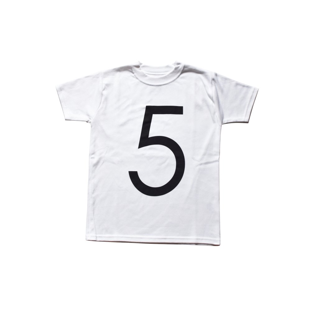 The Wonder Years collection SS White Tee No.5 img