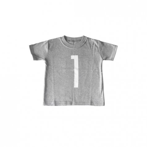 The Wonder Years collection SS Grey Tee No.1