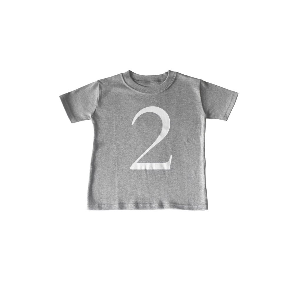 The Wonder Years Number T-shirt SS Grey No.2 img
