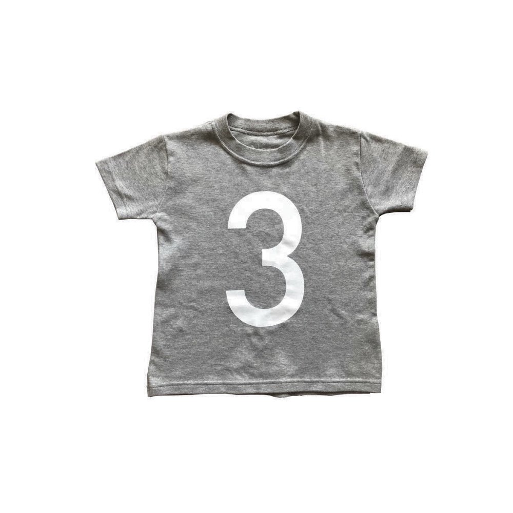 The Wonder Years Number T-shirt SS Grey No.3 img
