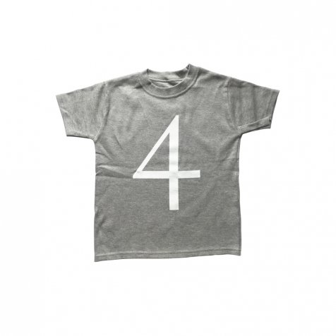 The Wonder Years collection SS Grey Tee No.4