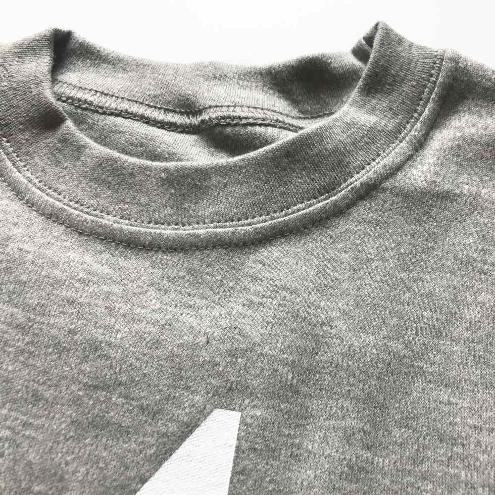 The Wonder Years Number T-shirt SS Grey No.5 img1