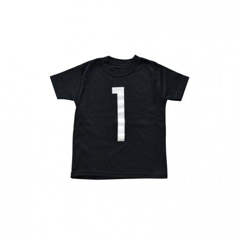 The Wonder Years collection SS Black Tee No.1