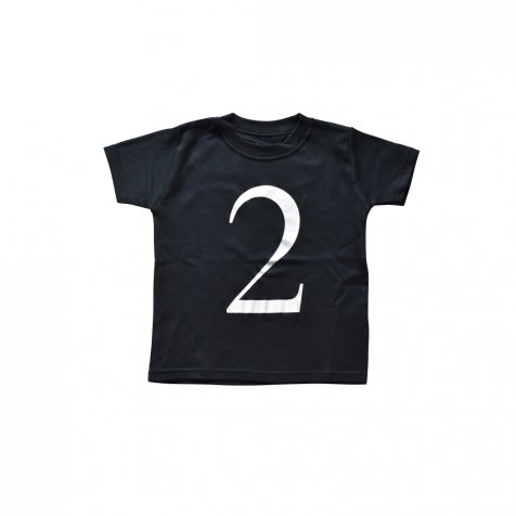 The Wonder Years Number T-shirt SS Black No.2