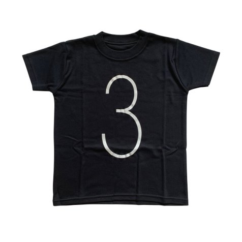 The Wonder Years Number T-shirt SS Black No.3