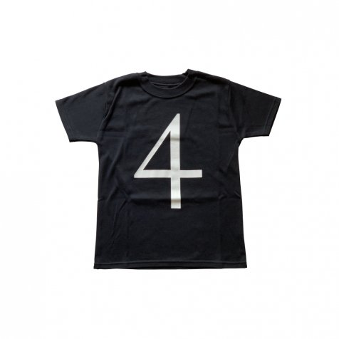The Wonder Years collection SS Black Tee No.4