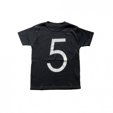The Wonder Years Number T-shirt SS Black No.5