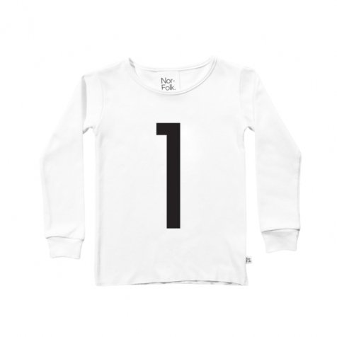 The Wonder Years collection LS White Tee No.1