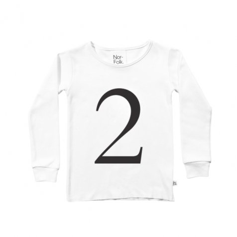 The Wonder Years collection LS White Tee No.2