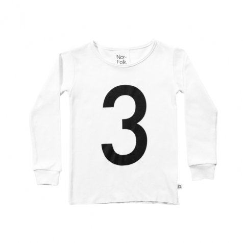 The Wonder Years collection LS White Tee No.3
