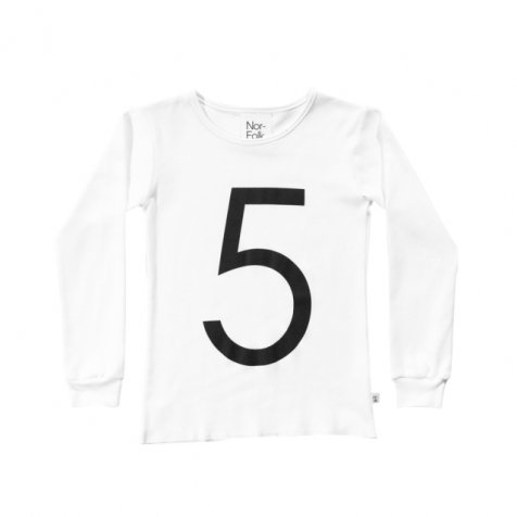 The Wonder Years collection LS White Tee No.5