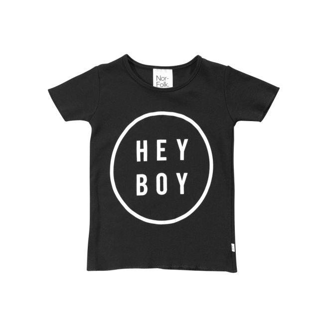 【20%OFF】Hey Boy Tee Black img