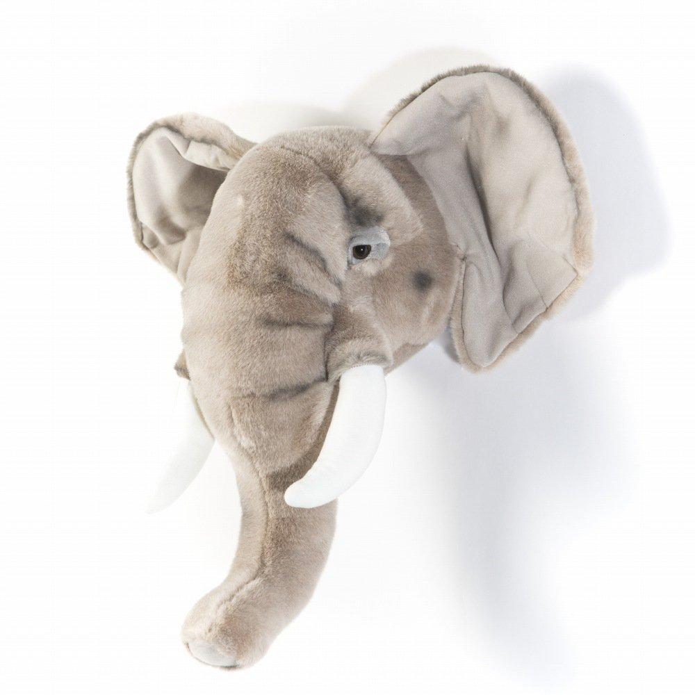 Animal Head Elephant 剥製風のぬいぐるみ・ぞう img2