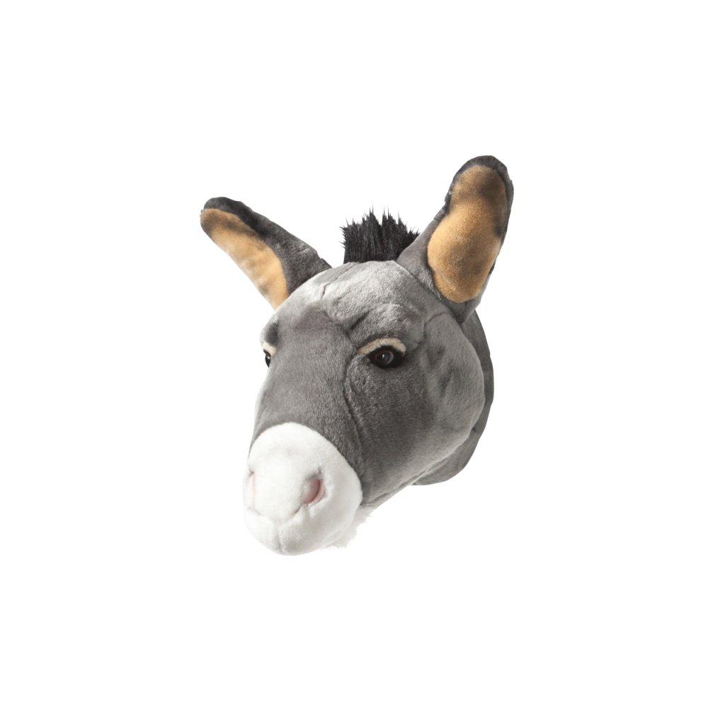 Animal Head Donkey 剥製風のぬいぐるみ・ドンキー img