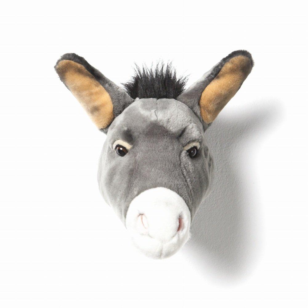 Animal Head Donkey 剥製風のぬいぐるみ・ドンキー img2