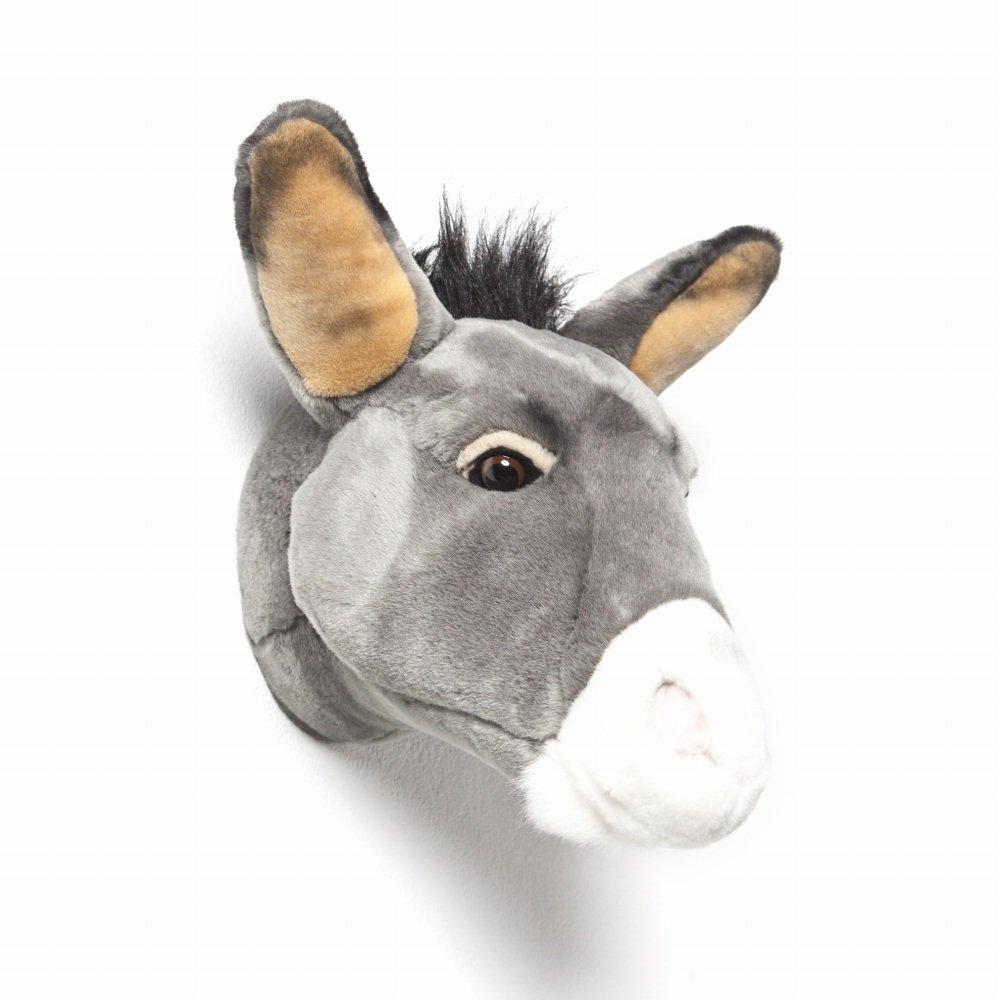 Animal Head Donkey 剥製風のぬいぐるみ・ドンキー img3