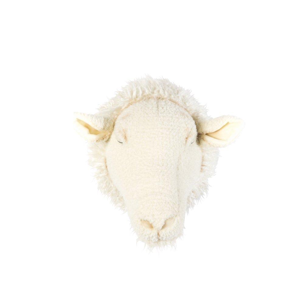 Animal Head Sheep 剥製風のぬいぐるみ・ひつじ img