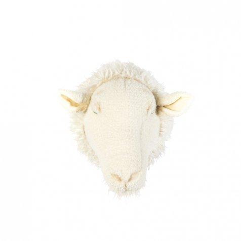 Animal Head Sheep 剥製風のぬいぐるみ・ひつじ