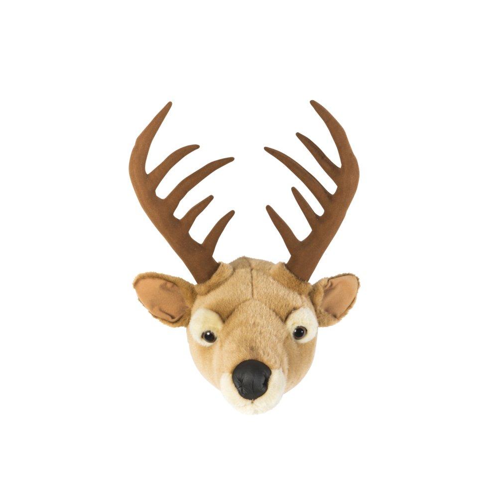 Animal Head Elk 剥製風のぬいぐるみ・トナカイ img