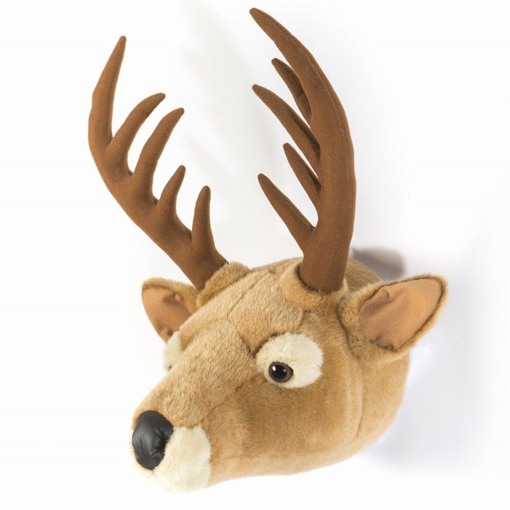 Animal Head Elk 剥製風のぬいぐるみ・トナカイ img2